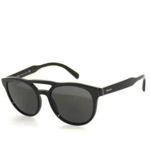 Prada SPR 13T 1 AB 5S0 Black Sunglasses